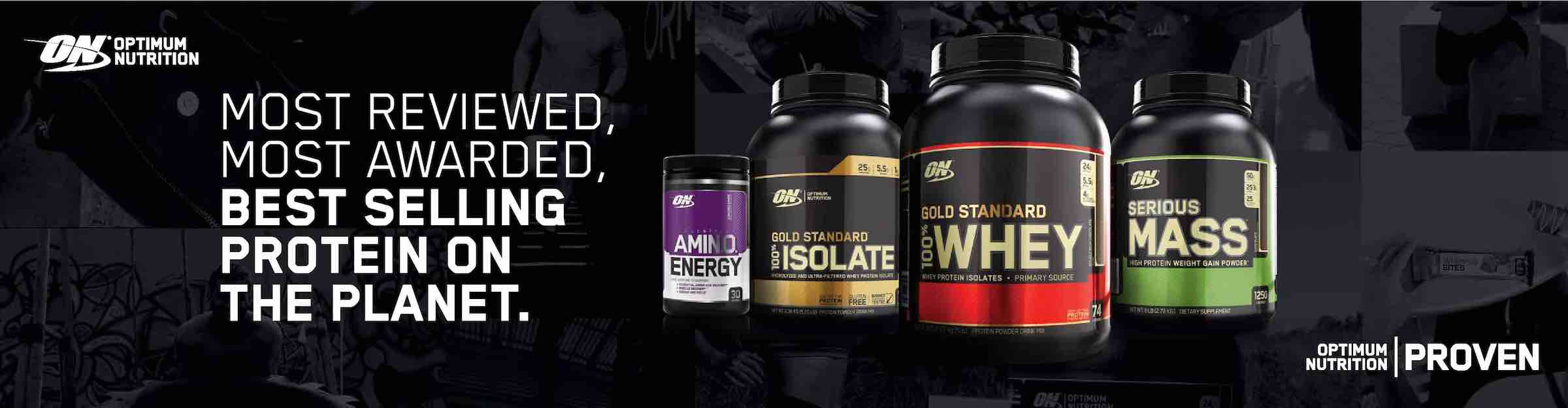 ON Banner, gold standard why protein