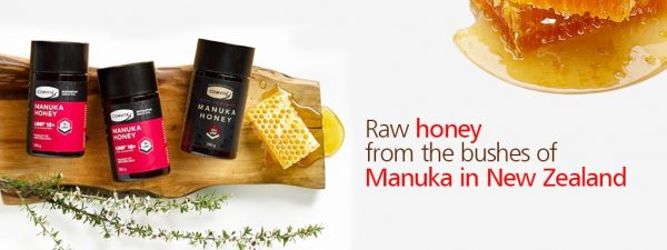 Comvita Honey Banner